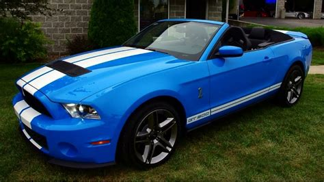 v8 mustang horsepower 2012 shelby gt500 convertible supercharged 5 4 dohc v8 550
