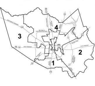 harris county texas precinct map harris county picture bloguez
