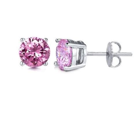 Pink diamond earrings   New photo blog with jewelry