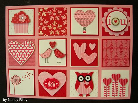 valentines day collage i st by nancy shadow box collage