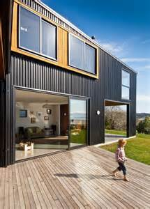 Home Design Ideas Nz by Nelson House In New Zealand Offers Seclusion Draped In