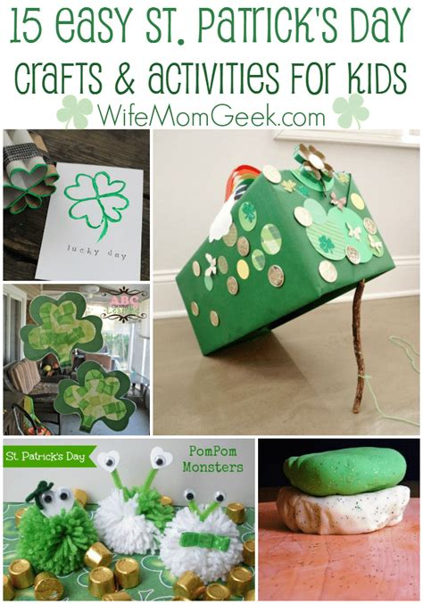 st s day craft ideas 15 easy st s day crafts and activities for