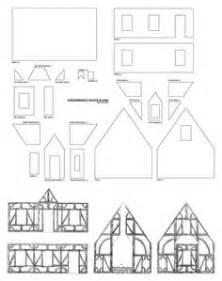 Tudor House Template by Gingerbread Tudor Template Cake Ideas And Designs