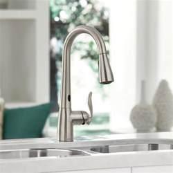 moen arbor motionsense touchless faucet 187 petagadget
