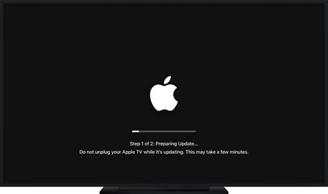 in update update the software on your apple tv apple support