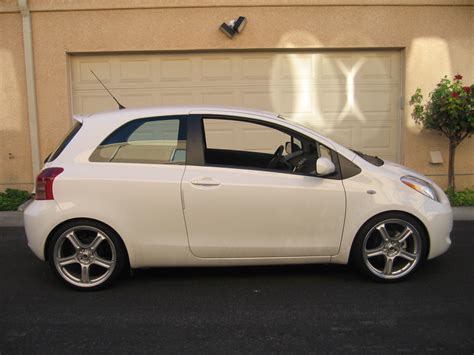 2007 toyota yaris rs 2007 yaris custom gallery