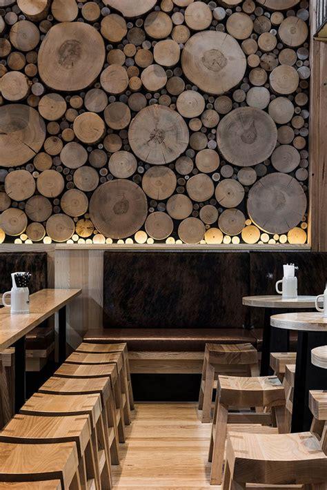 Mur En Bois Decoratif mur d 233 coratif en bois massif