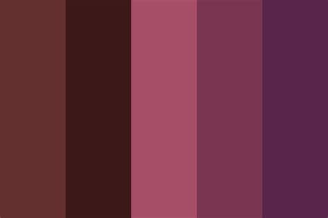 berry color berry velvet color palette