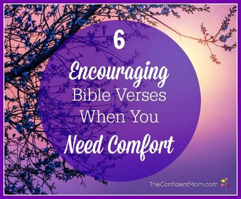 comforter bible comforting bible verses theconfidentmom com say