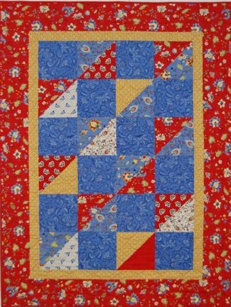 Easy Quilt Designs by Easy Quilt By Sunflowerquilts Quilting Pattern