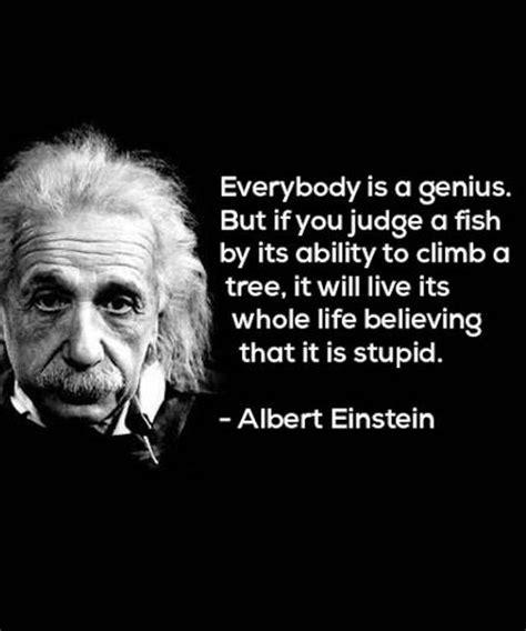 best quotes by einstein albert einstein quotes fish www imgkid the image