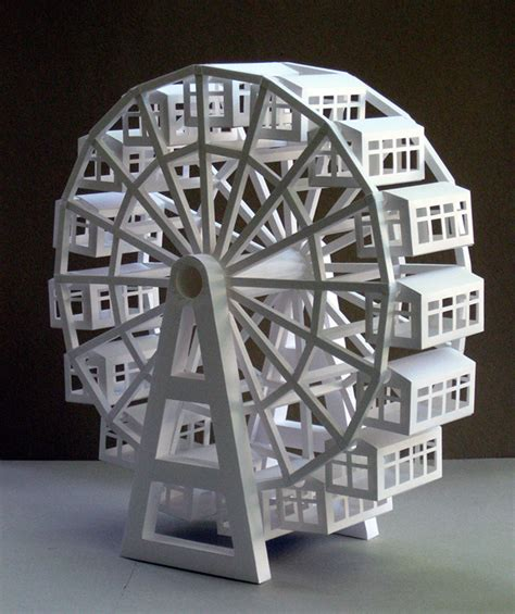 How To Make A Paper Ferris Wheel - nelson atkins museum of youth program on behance