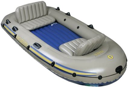 inflatable boats maine 4 person excursion inflatable boat set