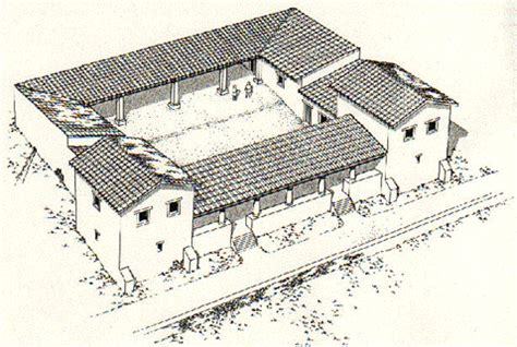 villa rustica layout villa rustica