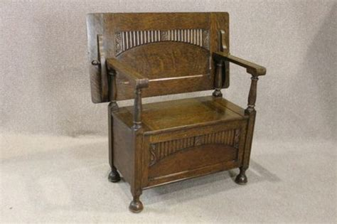monks bench settle edwardian monks bench settle antiques atlas