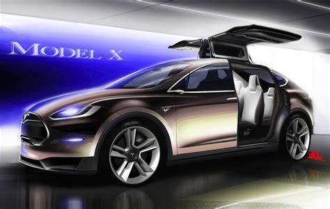 Tesla Model X Suv Telsa Model X To Be 7 Seat Suv Ev Powertrains Up To 508kw