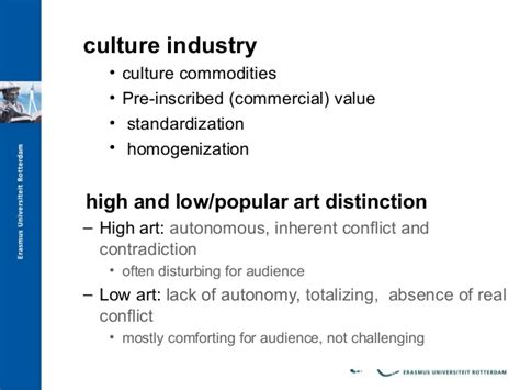 The Culture Industry Selected Essays On Mass Culture by Ideology And Media