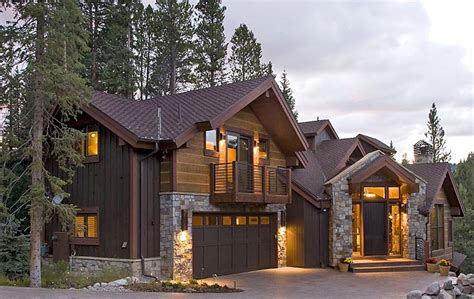 Colorado Style Home Plans by Colorado Custom Mountain Home Architects Bhh Partners