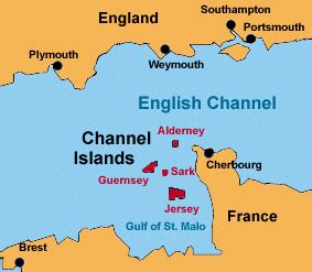 map uk and channel islands the channel islands jersey guernsey