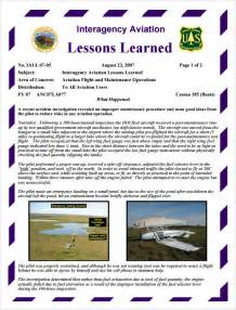 It Project Lessons Learned Template by Sle Lessons Learned 5 Documents In Pdf Word Excel