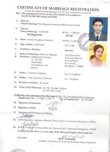 Certification Of Marriage Letter Affidavit Format For Marriage Certificate Submited Images