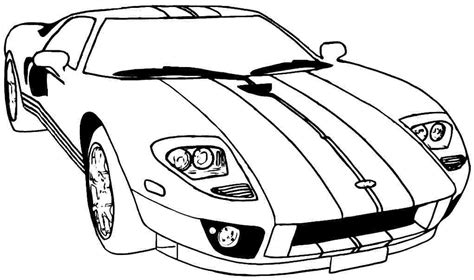 Colouring In Pictures Of Sports Carsll L
