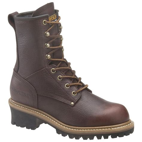 womans steel toe boots s carolina 174 steel toe logger boots 227429 work