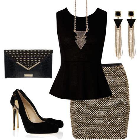 Purse Trend Black With A Touch Of Gold by 2018 Yılbaşı Kombin 214 Nerileri Abiye Elbise