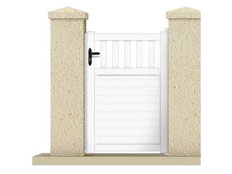 echelle de decoration 1227 portillon quot haumea quot 1 05 m pvc coloris blanc 63310