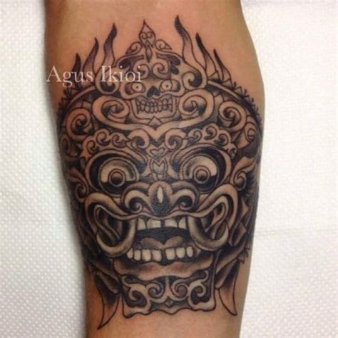 tattoo hut bali barong tattoos designs history meaning tattlas bali