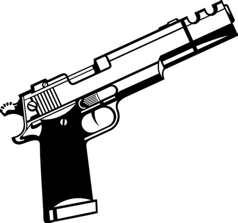 9mm Drawing by Pistol Clipart 9mm Pencil And In Color Pistol Clipart 9mm