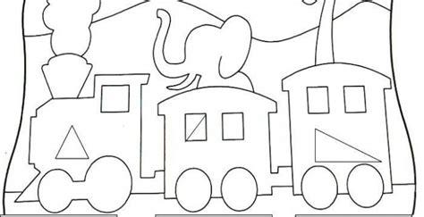 dibujos para colorear con figuras geométricas figuras geometricas para colorear en preescolar figuras