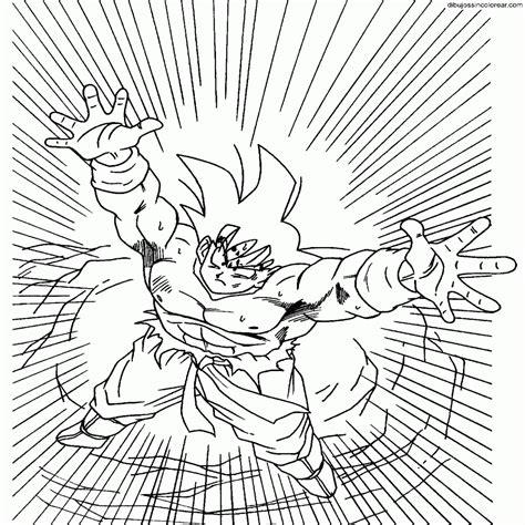 imagenes de goku a color para imprimir dibujos sin colorear dibujos de goku dragonball z para