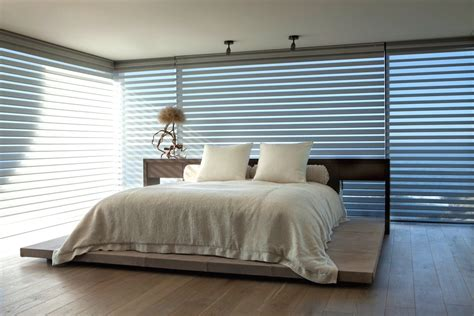 modern bedroom blinds home design decor and magnificent