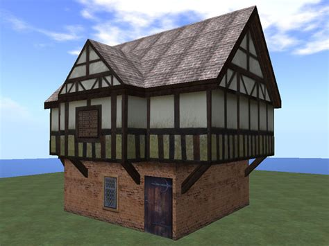 Farm Wall Murals second life marketplace re tudor house 2 story