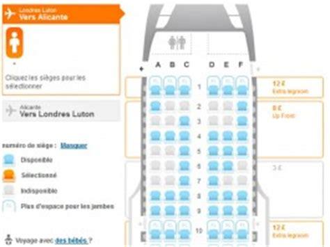 plan siege avion easyjet easyjet 233 tend l allocation de si 232 ge 224 cdg air journal