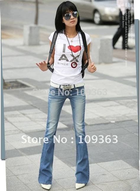 buy jeans that fit understand denim cut style aliexpress com buy fashion new ladies boot cut jeans