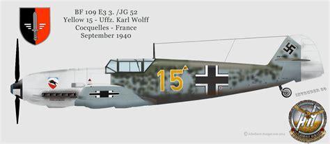 bf 109 e1 jagdgeschwader 53 jg 53 quot pik as quot 39 40 ecpad luftwaffe wwii luftwaffe profiles jg 52 emil profiles