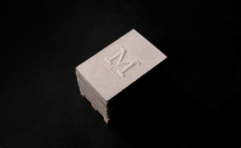 concrete business cards concrete business cards by murmure 187 retail design blog