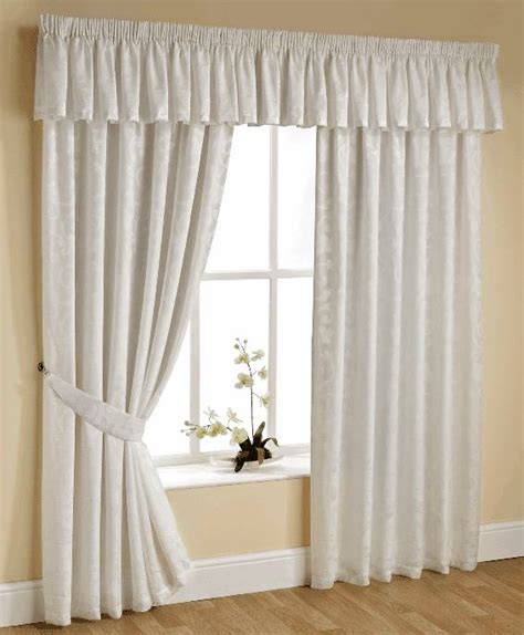 heading tape for curtains olivia cream lined voile curtains with heading tape top