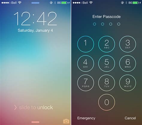 lock screen themes for iphone 6 customize the lock screen of iphone quick web tips