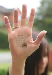 teenager girls small hand tattoos