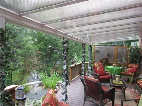 Clear Patio Roofing Materials by Patio Cover Translucent Traditional Patio Toronto