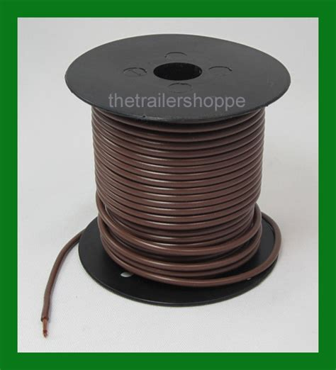 brown wire lights sale trailer light cable wiring harness 14 100 wire roll