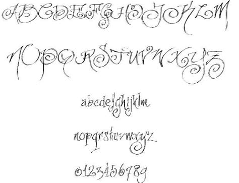 tattoo fonts no download 104 best images about quotes on fonts
