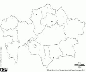 iran map coloring page political maps of asia countries coloring pages printable
