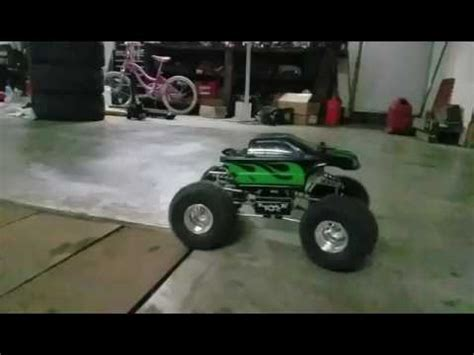 rc truck freestyle freestyle rc pro c test run toro x8 v2 and ts150a esc on