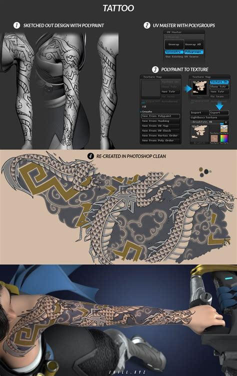 tattoo tutorial 340 best images about 3d on