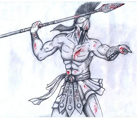 doodle how to make warrior spartan warrior drawing by spartanalexandra on deviantart