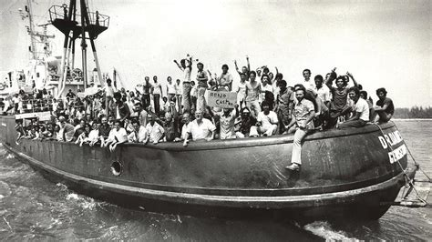 boat lift cuba the mariel boatlift immigration s impact on local workers